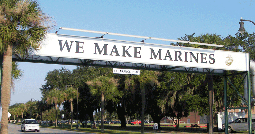 Official Marine Corps Links for MCRD Parris Island