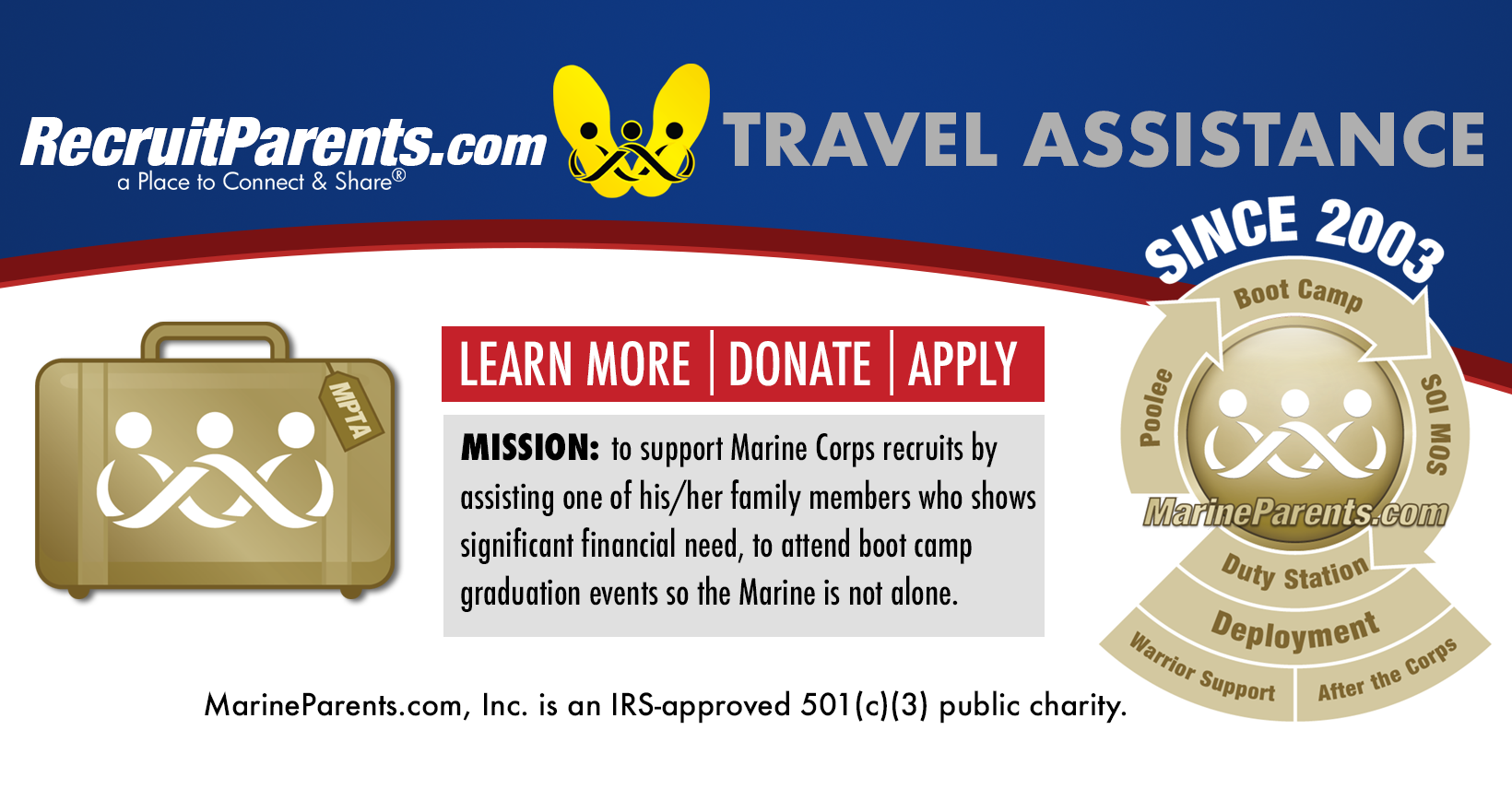 MarineParents.com Travel Assistance