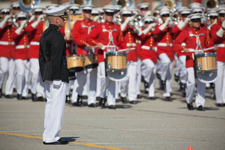 Marine Corps Battle Color Ceremony