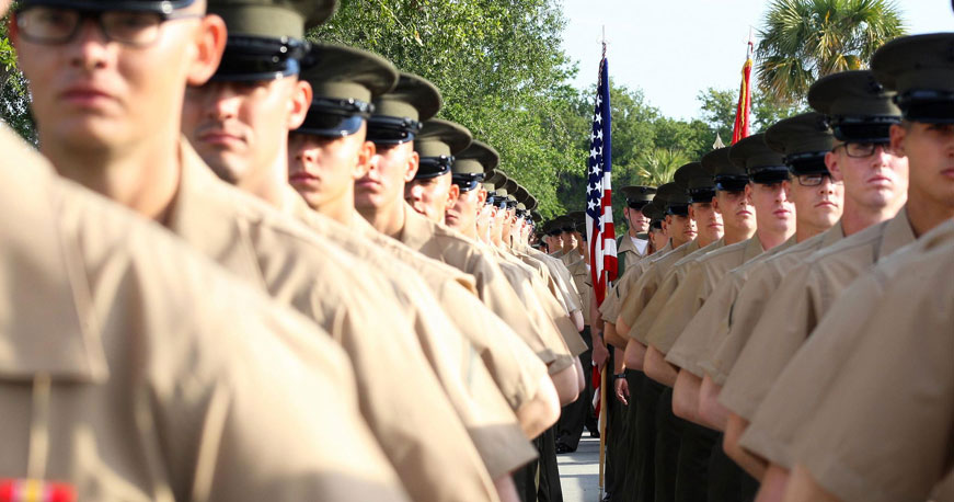 boot camp graduation USMC
