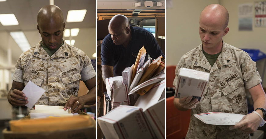 Mail And Packages During Boot Camp