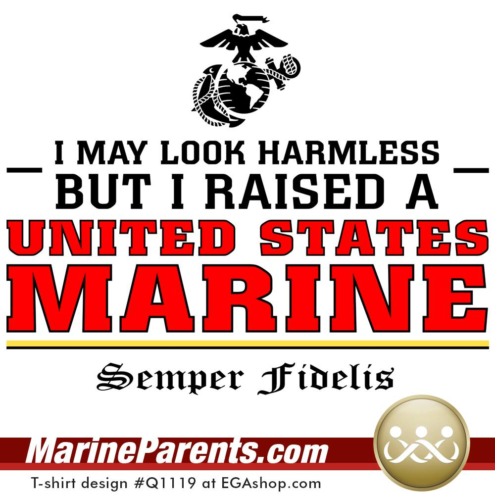 Raised a US Marine
