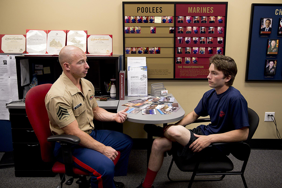 Marine Recruiter
