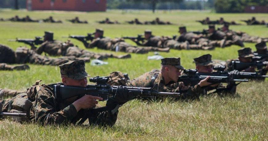 Marine Corps Boot Camp Training Weeks